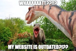 Whaat??!!?? My website needs a redesign?